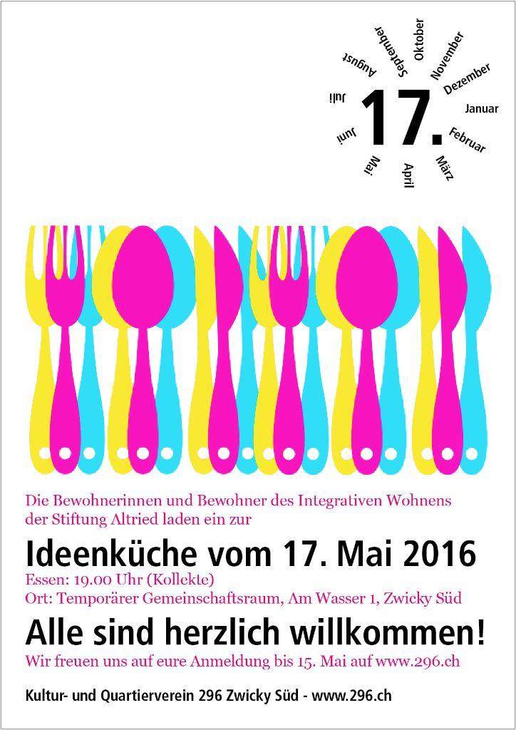 Ideenküche 17. Mai 2016